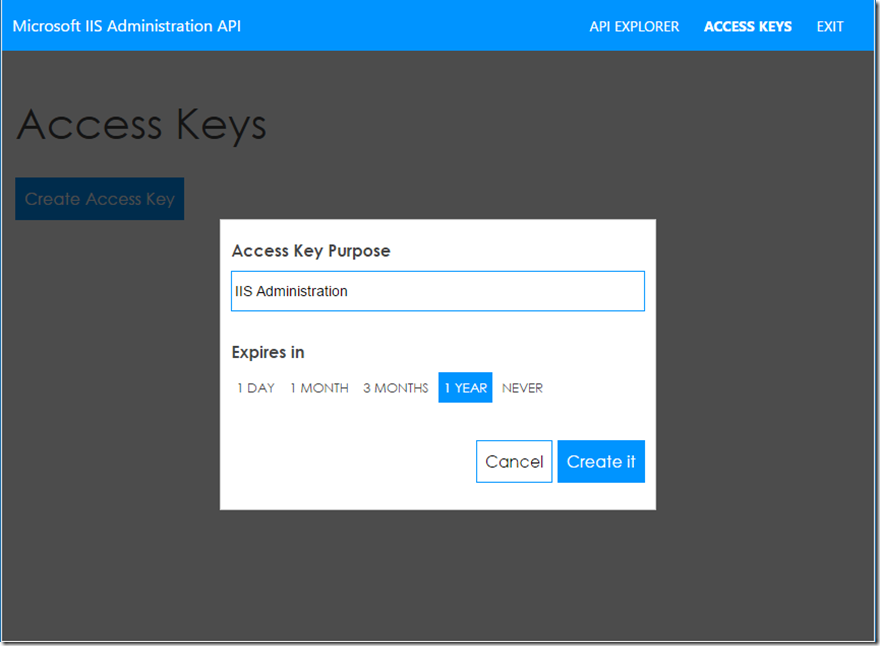 Microsoft IIS Administration API - Microsoft IIS
