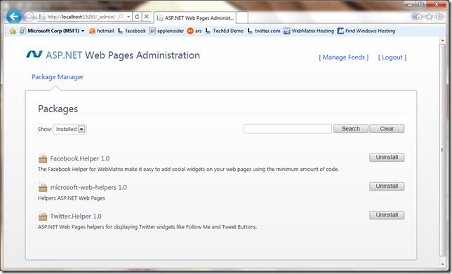 asp.net web page panel