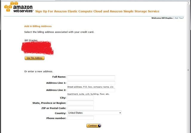 how to stop amazon sign up page
