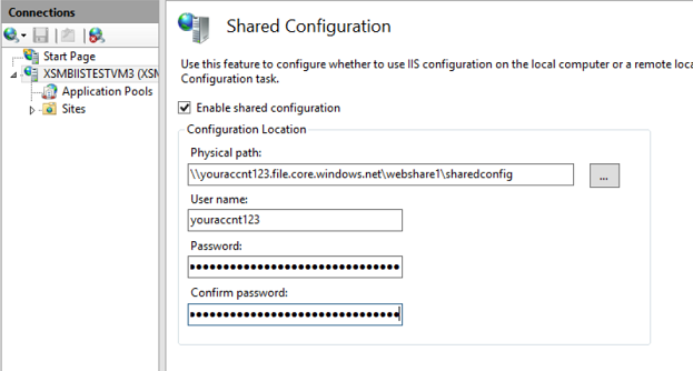 David So's Blog - IIS and Azure Files