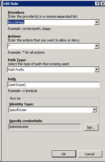 Microsoft Web Deployment Team Blog - Operations on application pools