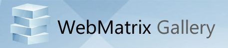 WebMatrix header
